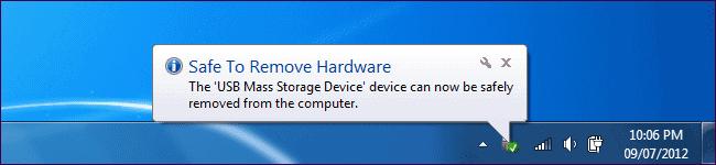 safe remove