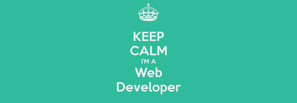 keep-calm-i-m-a-web-developer